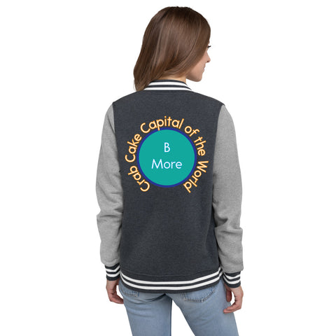 Baltimore, Crab Cake Capital of the World Women's Letterman Jacket