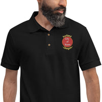 Portland, City of Roses Embroidered Polo Shirt
