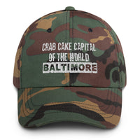 Baltimore, Crab Cake Capital of the World Dad hat