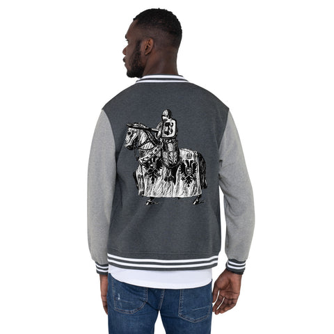 Manic Spear Men's Letterman Jacket