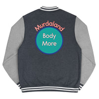 Bodymore, Murdaland Blue Men's Letterman Jacket