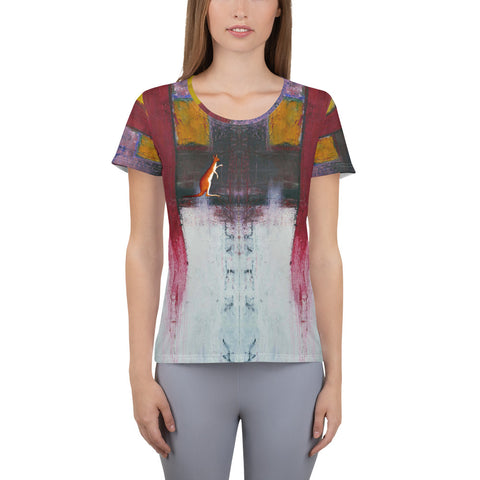 Redshift Collection  Women's Athletic T-shirt