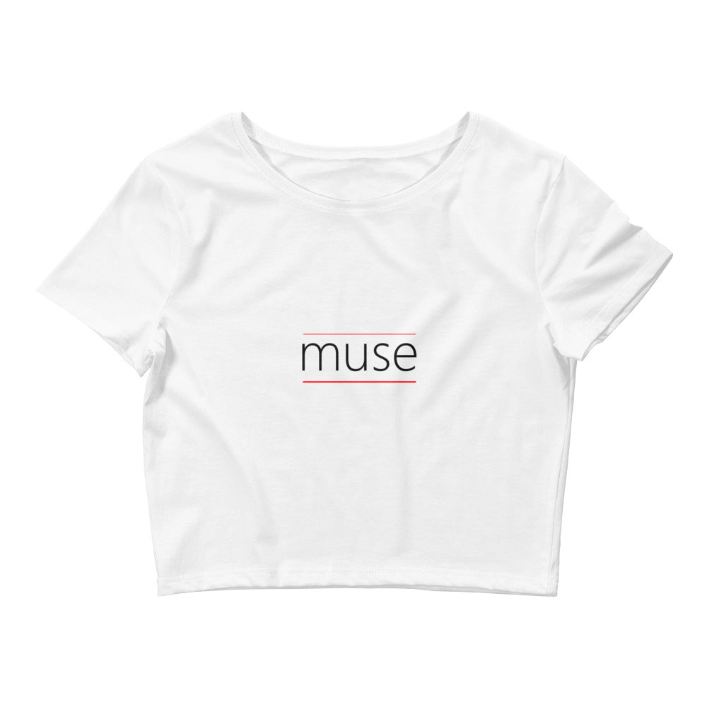 Muse Women's Crop Tee