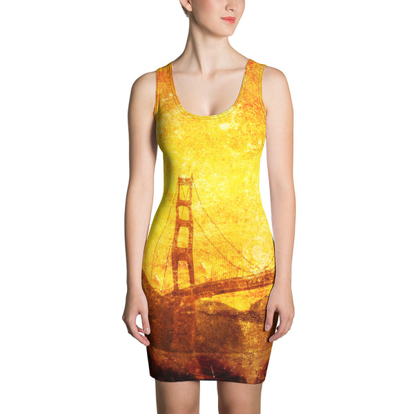 Degradation Comforter Pencil Dress