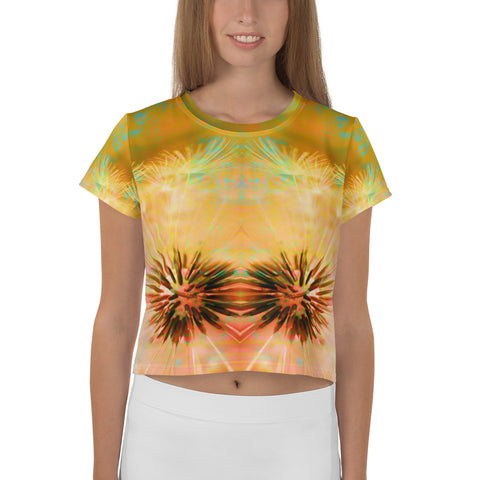 Looking Allison  Crop Tee
