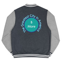 Baltimore, The Greatest City in America Men's Letterman Jacket