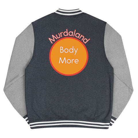 Bodymore, Murdaland Orange Men's Letterman Jacket