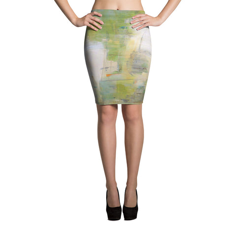 Dazed Grace Pencil Skirt