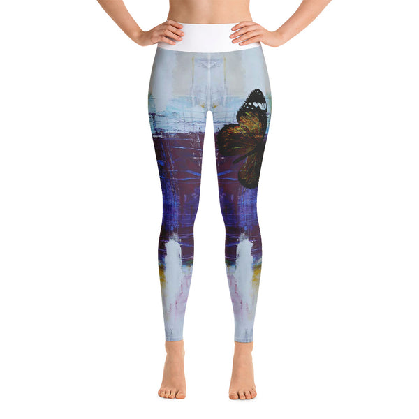 Submerged Rendition Yoga Leggings