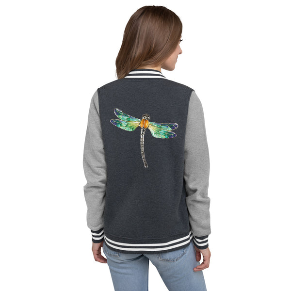 Screaming Hitchhike Women's Letterman Jacket