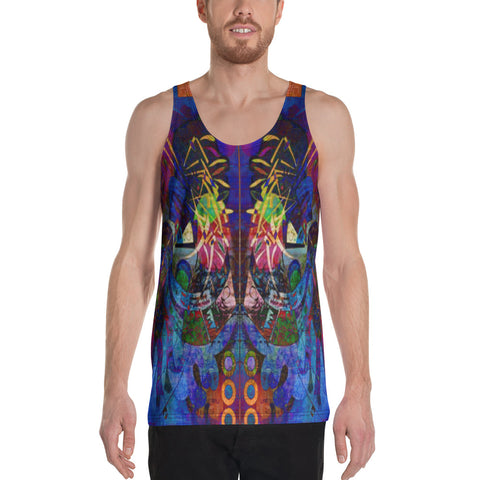 Incidental Wrapper Unisex Tank Top