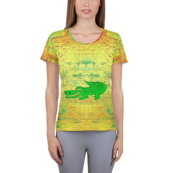 Masterful Natalie  Women's Athletic T-shirt