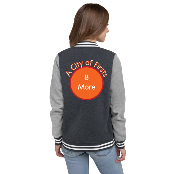 Baltimore, A City of Firsts Women's Letterman Jacket
