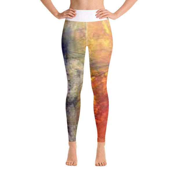 Flaky Lane Yoga Leggings