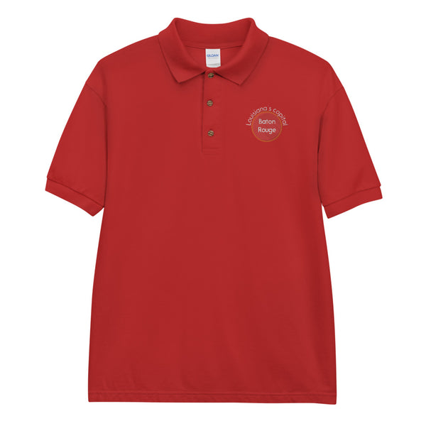 Baton Rouge, Louisiana's Capital Embroidered Polo Shirt
