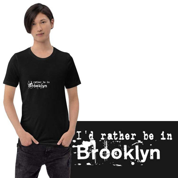 I'd rather be in Brooklyn 1 Design