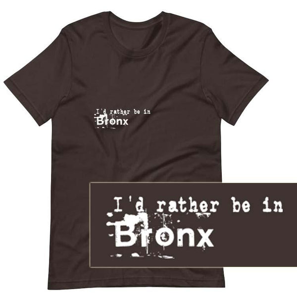 I'd rather be in Bronx Design