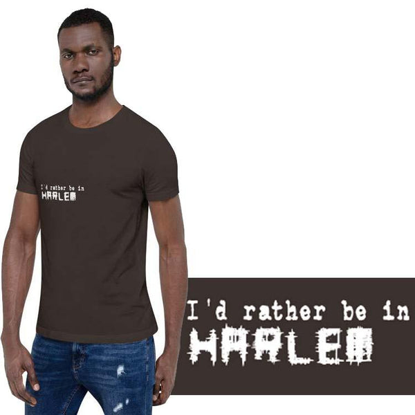 I'd rather be in Harlem 3 Design
