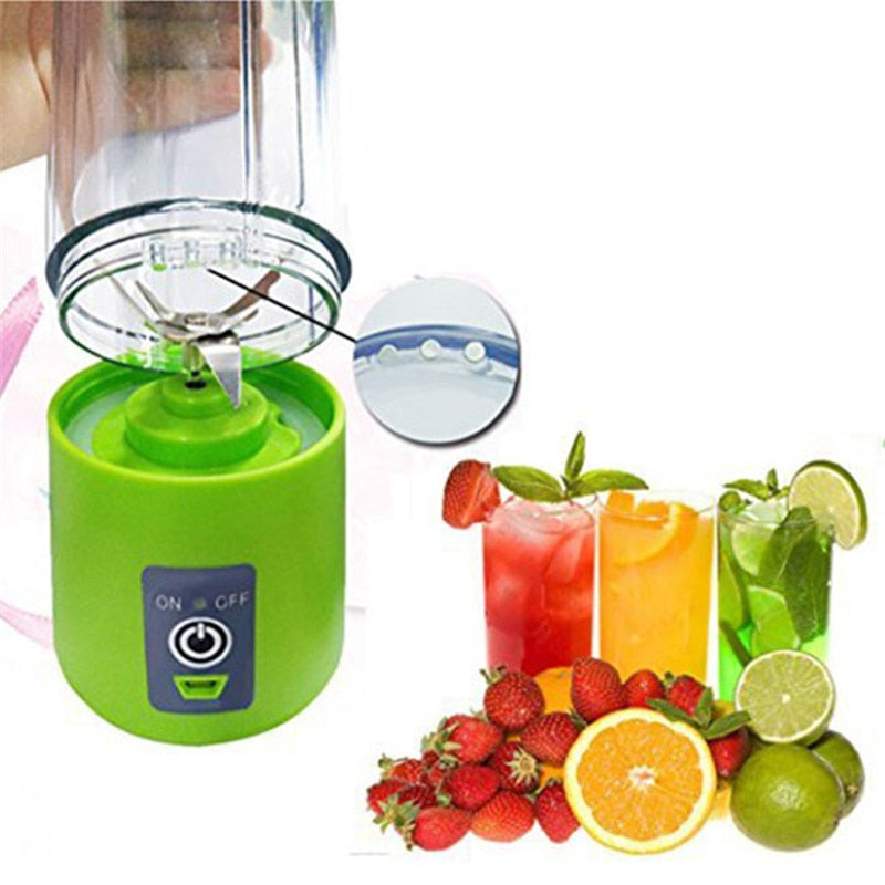 Portable USB Rechargeable Personal Juicer Blender