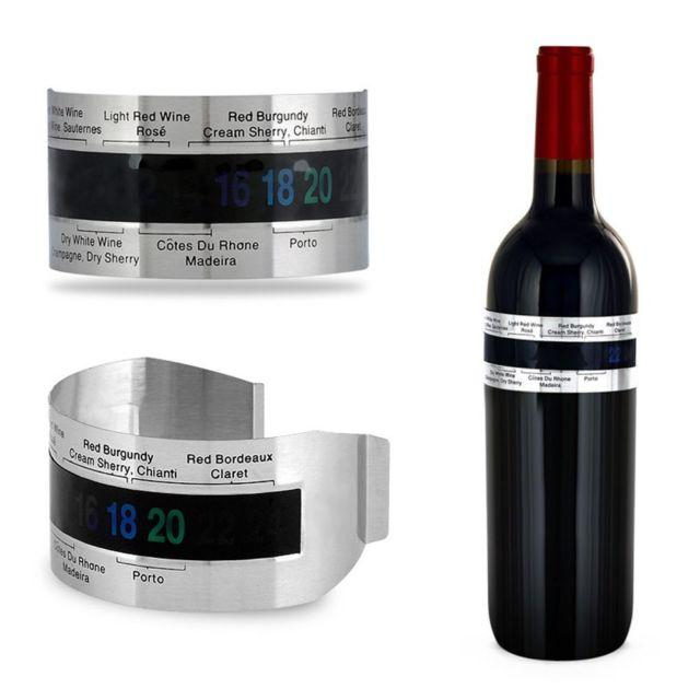 Stainless Steel LCD Electric Wine Digital Thermometer