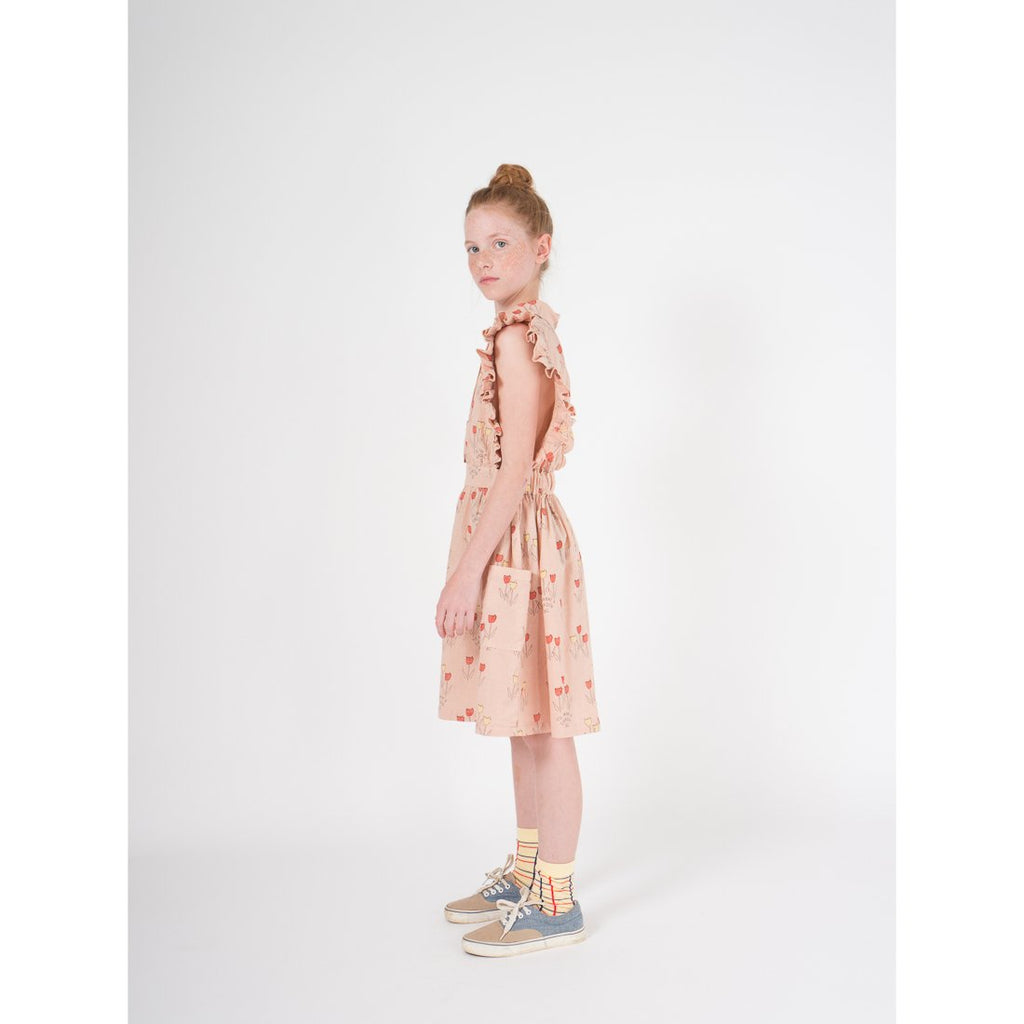 Poppy Prairie Ruffles Dress - Kids Edition