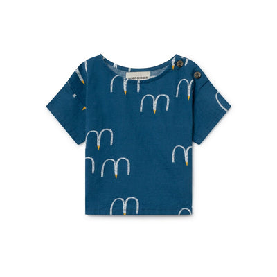 Birds Short Sleeve Shirt - Kids Edition