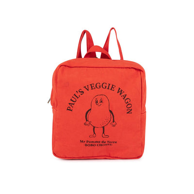 Pomme de Terre Petit School Bag - Bobo Choses, Carried by Kids Edition, Vancouver, Canada