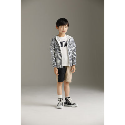 Swim Cloth Pocketable Parka Print - Kids Edition