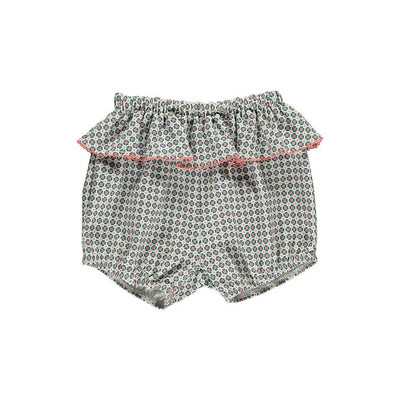 Rylee Organic Cotton Bloomers-Orange Tile - Kids Edition