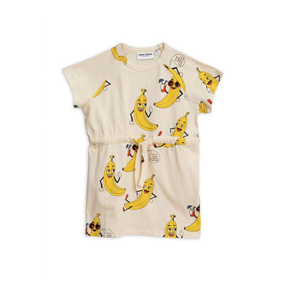 Banana Printed Dress - Kids Edition