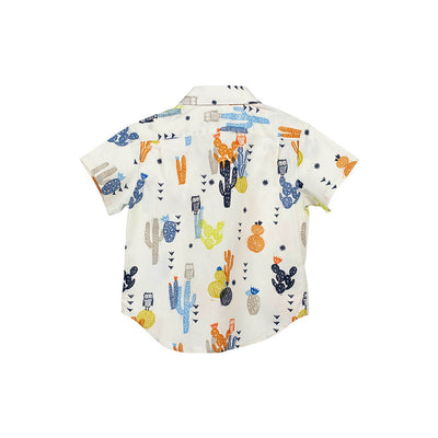 Summer Owls Short Slleve Hopper Shirt - Kids Edition