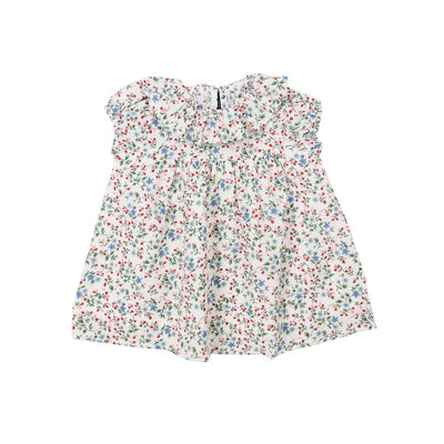 Baby Flower Cotton Summer Dress - Kids Edition