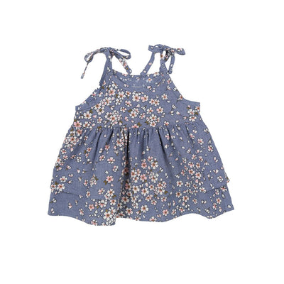Flower Jean Blouse - Kids Edition