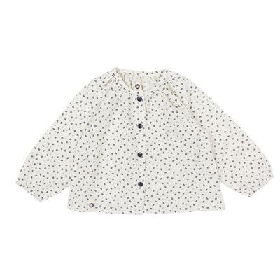 Flower Cotton Cardigan - Kids Edition
