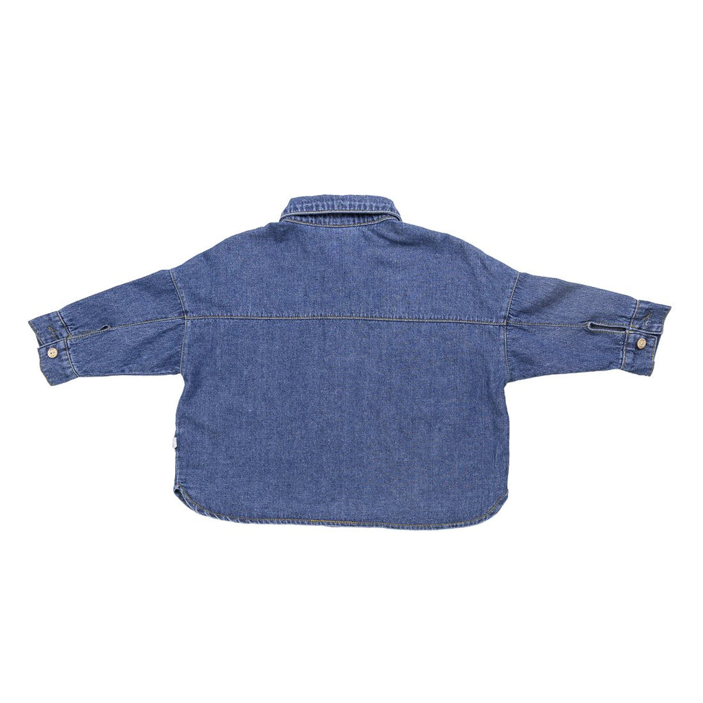 Blue Denim Shirt - Kids Edition