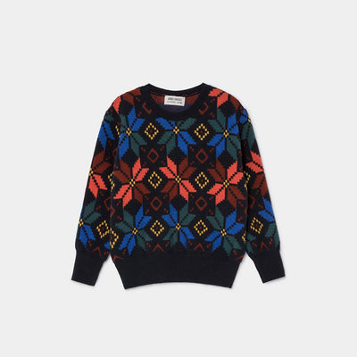 Multicolor Jacquard Jumper - Kids Edition