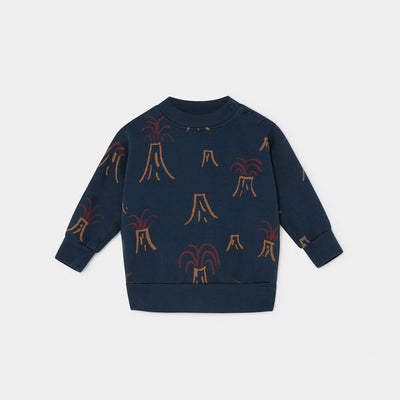 All Over Volcano Baby Sweatshirt - Kids Edition