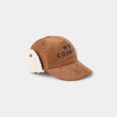 We Cosmos Sheepskin Cap - Kids Edition