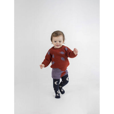 Small Saturn Jacquard Jumper - Kids Edition