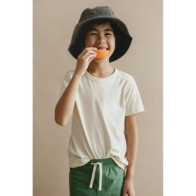 Sasha Classic Tee - Natural - Petits Vilains,  a designer children shoes and accessories brand based in Barcelona, Spain. Carried by Kids Edition, the best online designer children clothing boutique based in Vancouver, Canada.