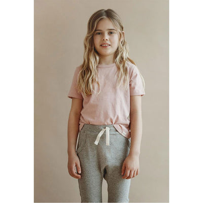 Sasha Classic Tee - Dusty Pink - Petits Vilains,  a designer children shoes and accessories brand based in Barcelona, Spain. Carried by Kids Edition, the best online designer children clothing boutique based in Vancouver, Canada.