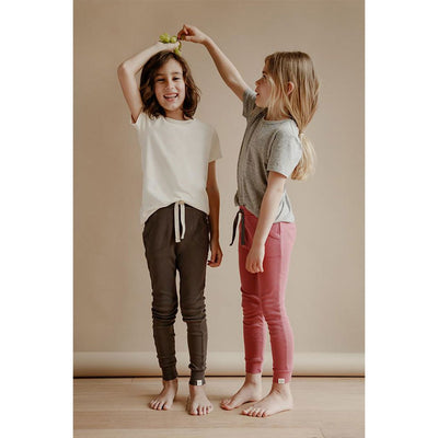 Sasha Classic Tee - Heather Grey - Petits Vilains,  a designer children shoes and accessories brand based in Barcelona, Spain. Carried by Kids Edition, the best online designer children clothing boutique based in Vancouver, Canada.
