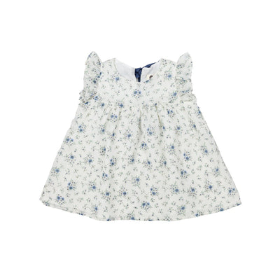 Flower Chiffon and Cotton Dress - Arim Closet, Carried by Kids Edition, Vancouver, Canada