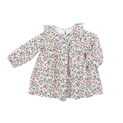 Baby Flower Cotton Dress - Kids Edition