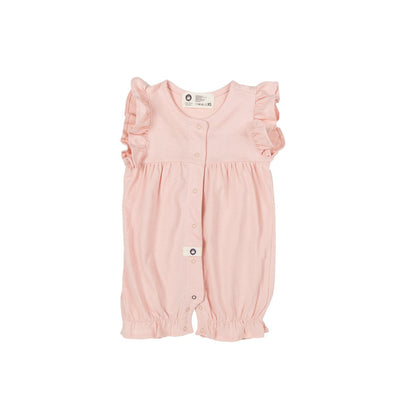 Pink Cute Cotton Bodysuit - Kids Edition