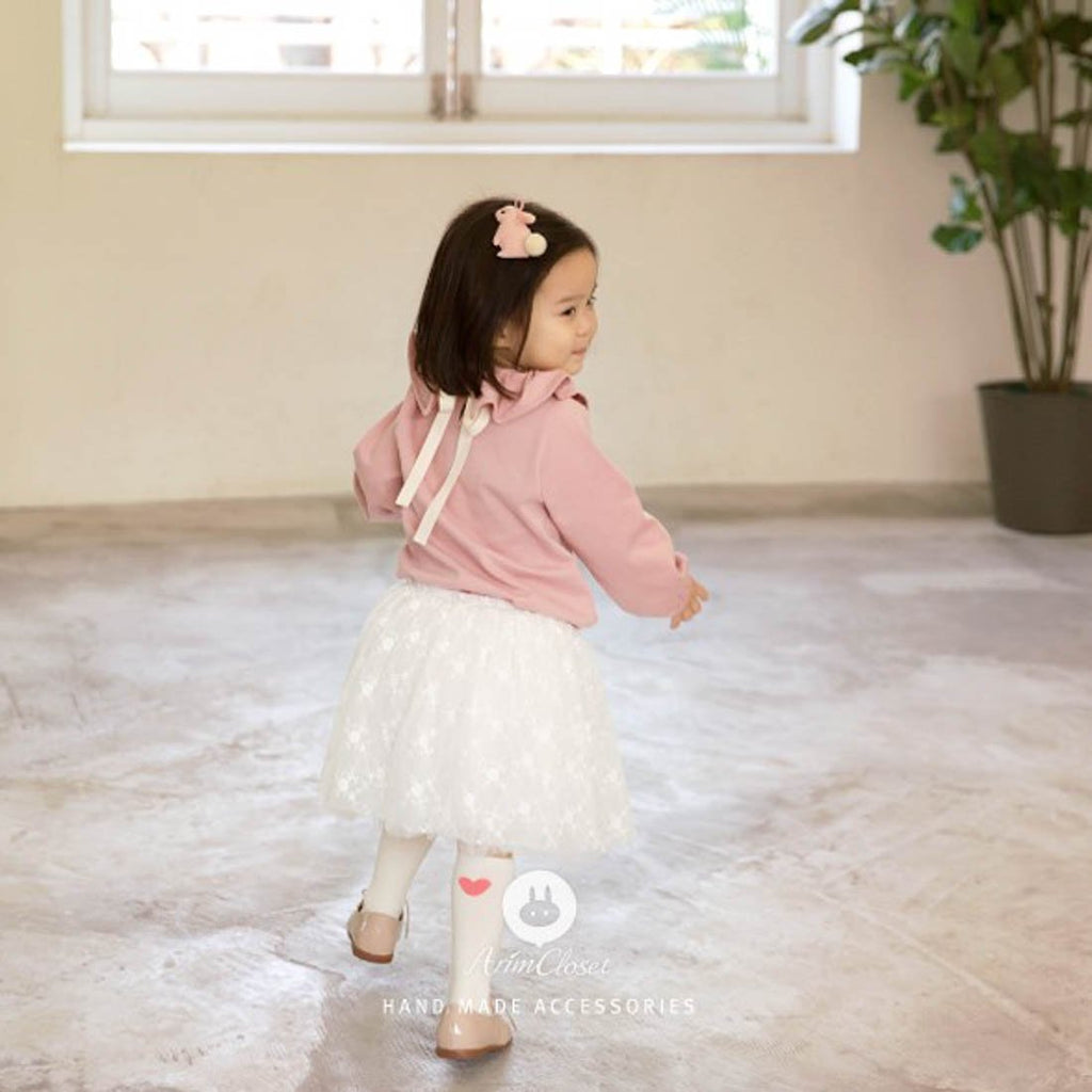 Strawberry Milk Blouse - Kids Edition