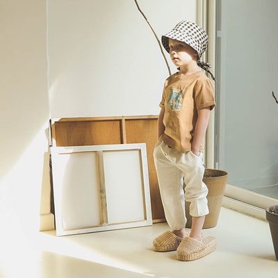 Beige Camel T-Shirt - Kids Edition
