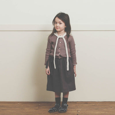 Snug Ribbed Cardigan - Bene Bene, Carried by Kids Edition, Vancouver, Canada