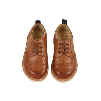 Brando Tan Burnished Leather - Kids Edition