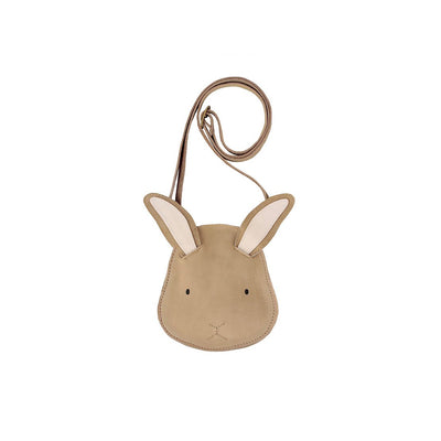 Britta Purse - Bunny - Donsje,  a designer children shoes and accessories brand based in Amsterdam, Netherlands. Carried by Kids Edition, the best online designer children clothing boutique based in Vancouver, Canada.